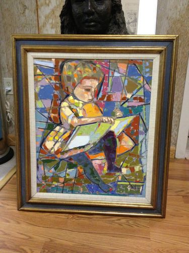 Oil Painting Signed Irving