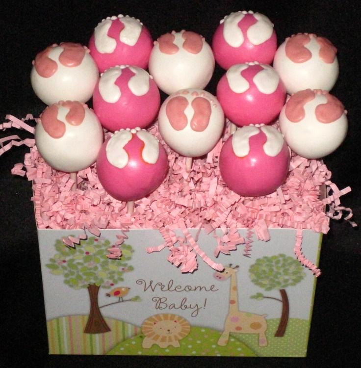 Baby Feet Cake Pops wwweyecandycakepopscom The 125