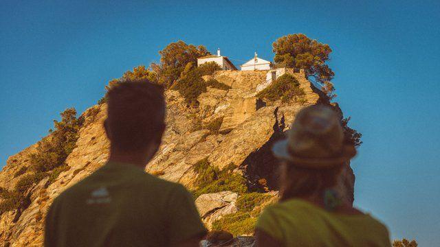 George & Helen Wedding in Skopelos