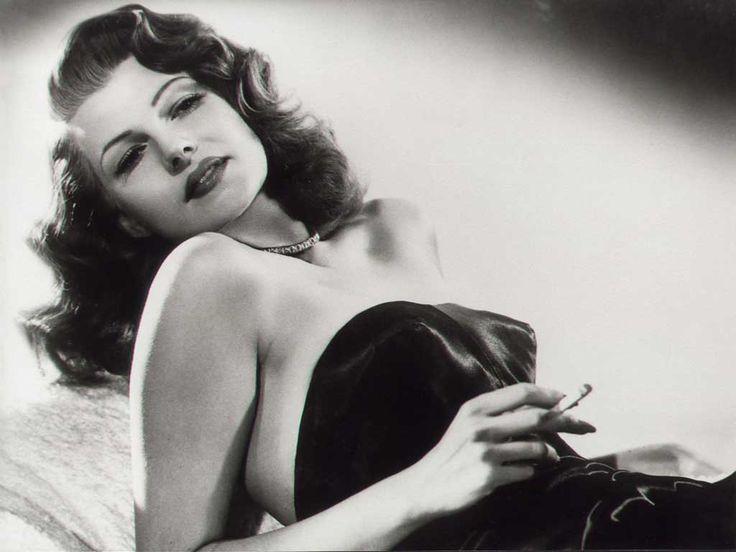 Rita Hayworth (nome artístico de Margarita Carmen Cansino; Nova Iorque, 17 de outubro de 1918 — Nova Iorque, 14 de maio de 1987)