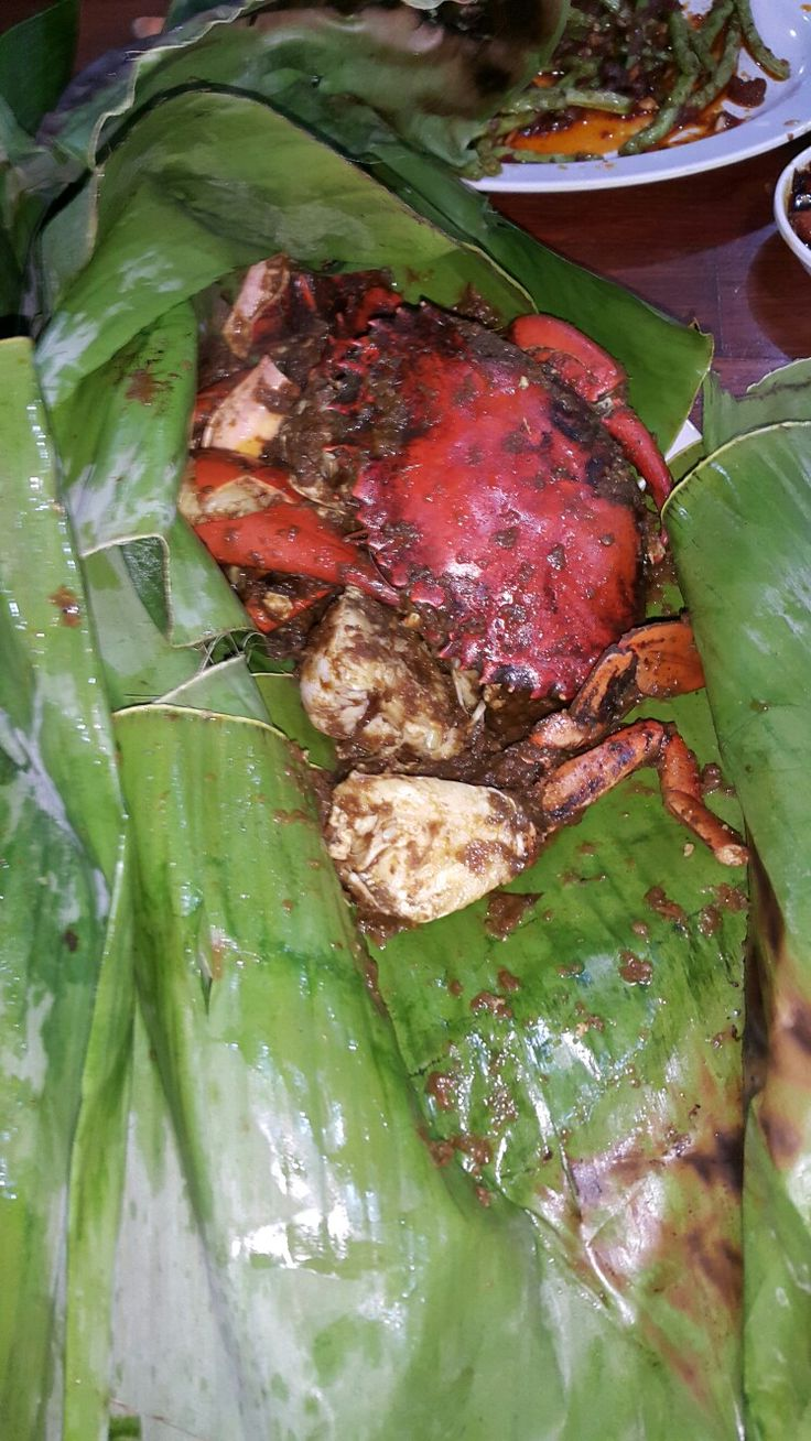 Kepiting Asap 🦀 #AromaSop #MuaraKarang