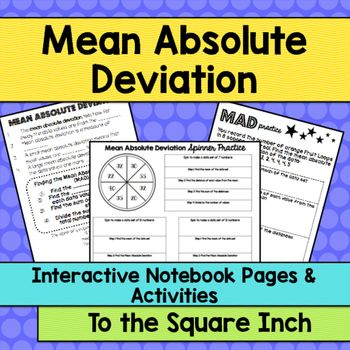 how to find absolute mean deviation