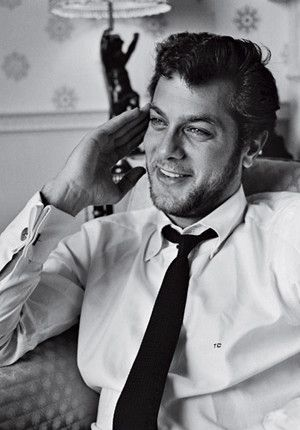 Tony Curtis probably why I have loved men with dark skin, black hair and light eyes my entire life!