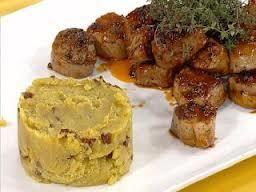 Pork Carré Recipe with Sweet Potato Puree  – cocina
