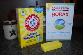 Country Girl at Home: Homemade Washing Detergent (The Frugal Solution)