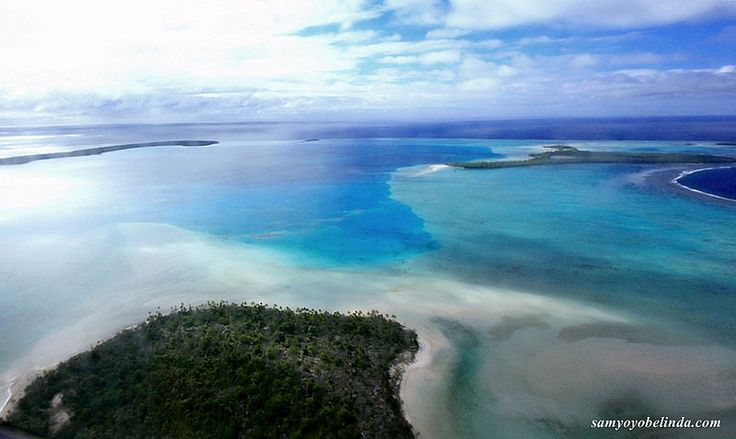 Atoll beauty~the brando tetiaroa