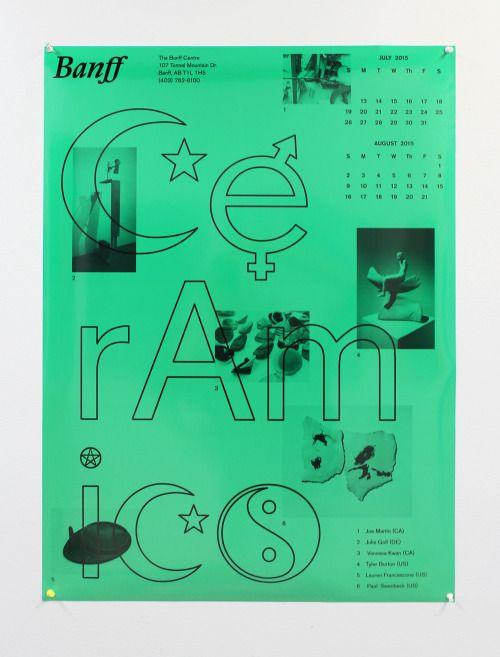 LaurenFrancescone (MFA 2011)Poster for The Banff Center, 2015