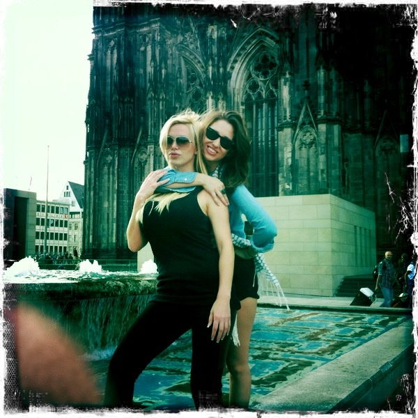 In Cologne, Germany in front of the Dom