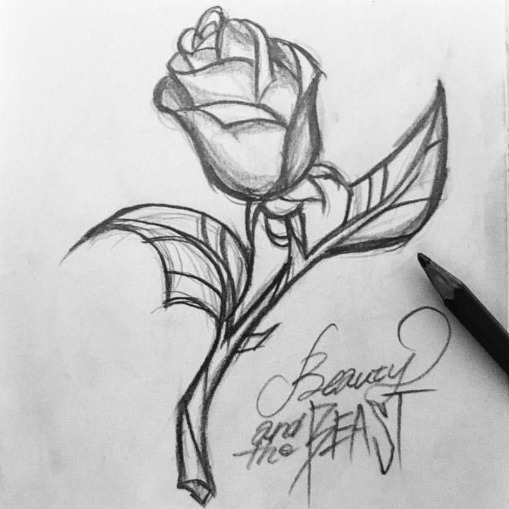 Beauty and the Beast #art #illust #illustration #design #drawing #paint #painting #sketch #pencil #pencilart #beautyandthebeast #disney #belle #beast #rose #美女と野獣 #アート #イラスト #スケッチ #鉛筆 #鉛筆画 #ディズニー #バラ #薔薇 #ローズ #