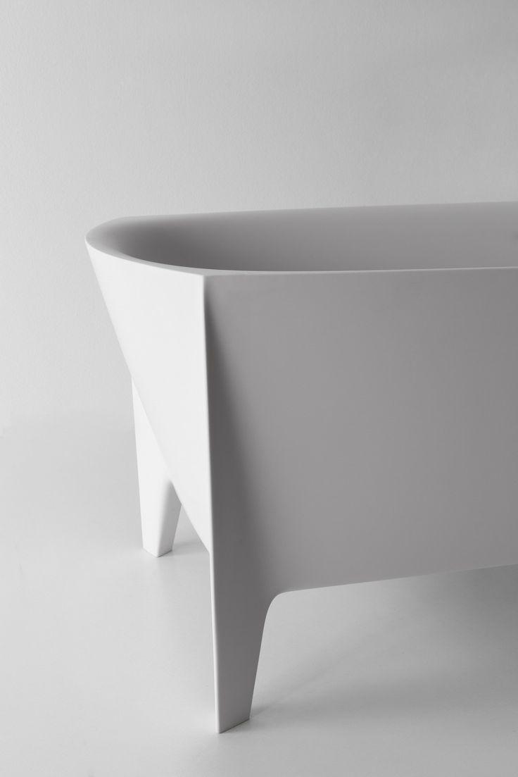 EDONIA | Bathtub by Antonio Lupi Design® | design Mario Ferrarini