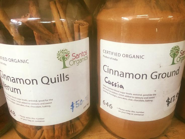 #Cinnamon. Are you buying the right one to get the health benefits? When buying cinnamon be sure to buy true or real cinnamon. This type of cinnamon is native to Sri Lanka and sourced from the plant Cinnamomum Zeylanicum. (Also known as Cinnamomum verum. 'Verum' meaning 'true'. On left in picture.) It possesses outstanding health benefits especially for the diabetic and those challenged by PCOS, obesity and high cholesterol.