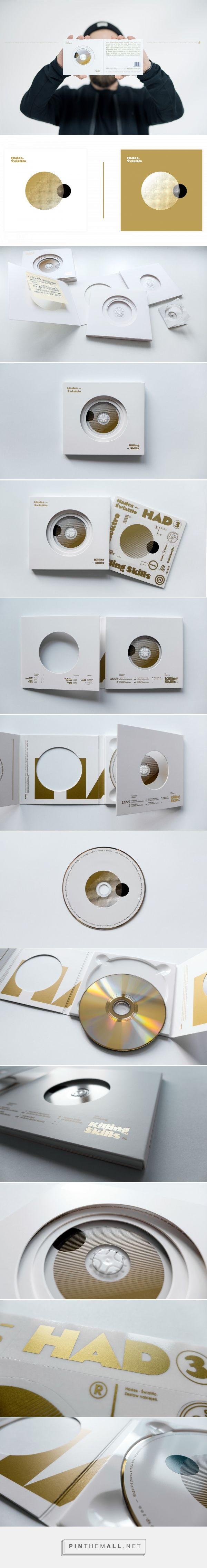 Hades - Świattło / CD Packaging - Packaging of the World - Creative Package Design Gallery - http://www.packagingoftheworld.com/2017/02/hades-swiatto-cd-packaging.html