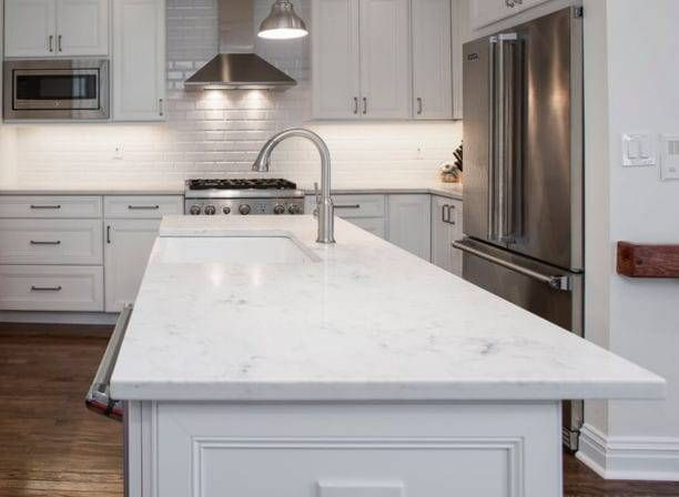 Average Cost For Marble Countertops In 2020 Countertops Kitchen Countertops White Marble Countertops