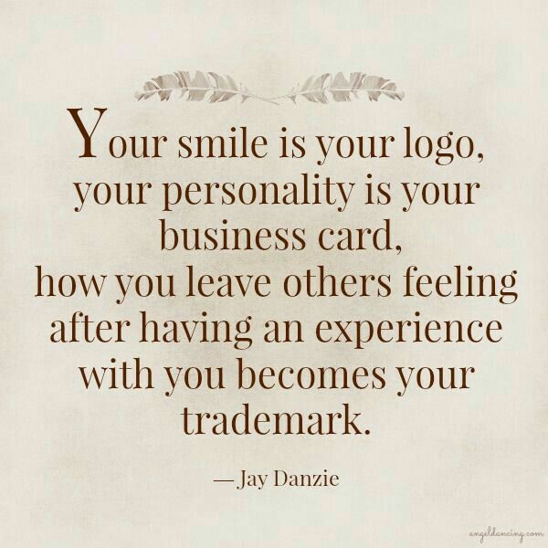 The reason you are so successful at work is because of your amazing personality... You rock!