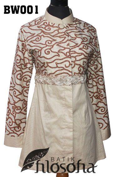 47 best batik kerja images on Pinterest  Batik dress Batik