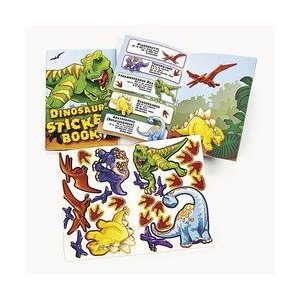fun for the older kids: 4Th Birthday, 12 Dinosaurs, Dinosaurs Stickers, Stickers Books, Footprint Stickers, Birthday Parties, They Include Toys, Assort Dinosaurs, Dinosaurs Parties