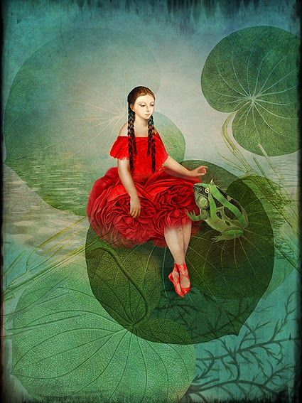 Thumblina by Catrin Welz-Stein - She's a wonderful digital artist.