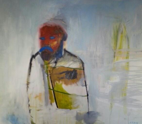 Craig Actually Smith / oil on canvas