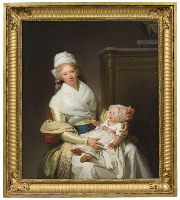 Constantia Foster med syskonbarn - Nationalmuseum - 178039.tif