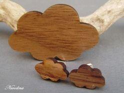 Schmuckset   Holz    Wolke