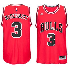 Get this Chicago Bulls Doug McDermott Red Swingman Jersey at ChicagoTeamStore.com