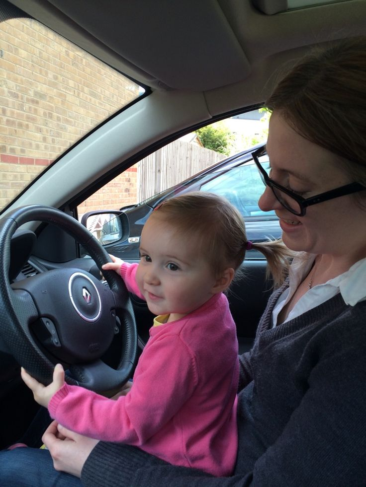 11.05.15 - Driving Miss Fizzy. (It's okay, we weren't really Britneying it, Aunty KiKi was just making the noises)