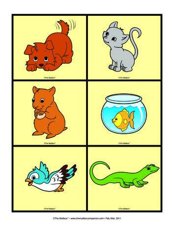 Pet Cards, Lesson Plans - The Mailbox