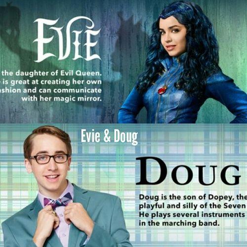 Imagen De Doug Collage And Evie Descendants