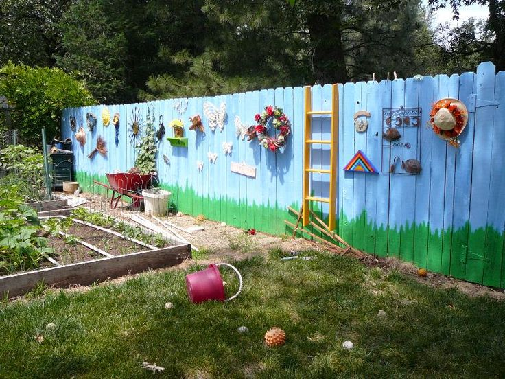 What A Gorgeous Fence For Schools Daycare Centres And