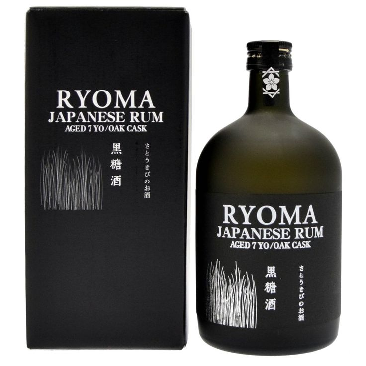 Le rhum Ryoma est élaboré à partir de jus de cannes fraîchement pressées selon les méthodes du rhum agricole et vieilli durant sept ans en fûts de chêne pour devenir un rhum aromatique et moelleux.