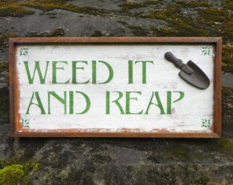 Funny Garden Sign Sayings | Wood Signs, Rustic Garden Signs, Ou tdoor Signs, Garden Decor, Signs ...