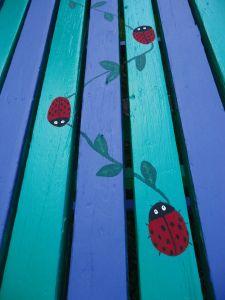 ladybug picnic table