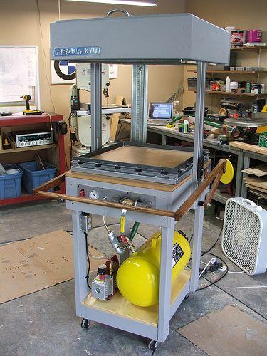 DIY vacuum forming machine