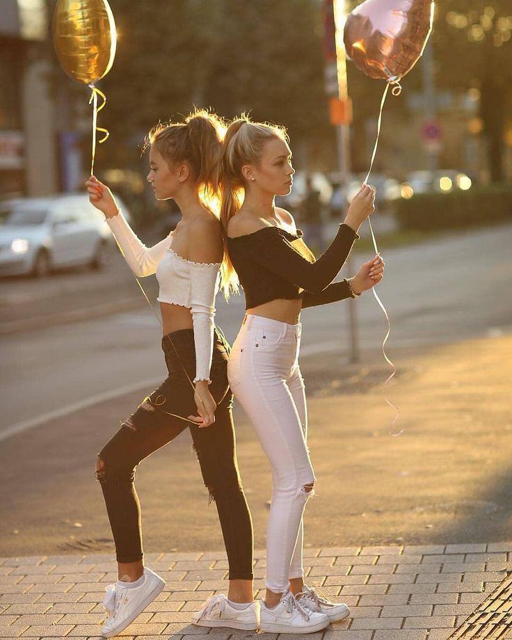Beste Freunde für immer 👭❤ # bestfriends #bestfriendsforever #bestfriendsforlife #bestfriendsever #bestfriendsgoals