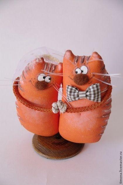 Игрушки животные, ручной работы. Я нарисую счастье оранжевою краской.... Ирина Рогачева (Куклы и игрушки). Ярмарка Мастеров.