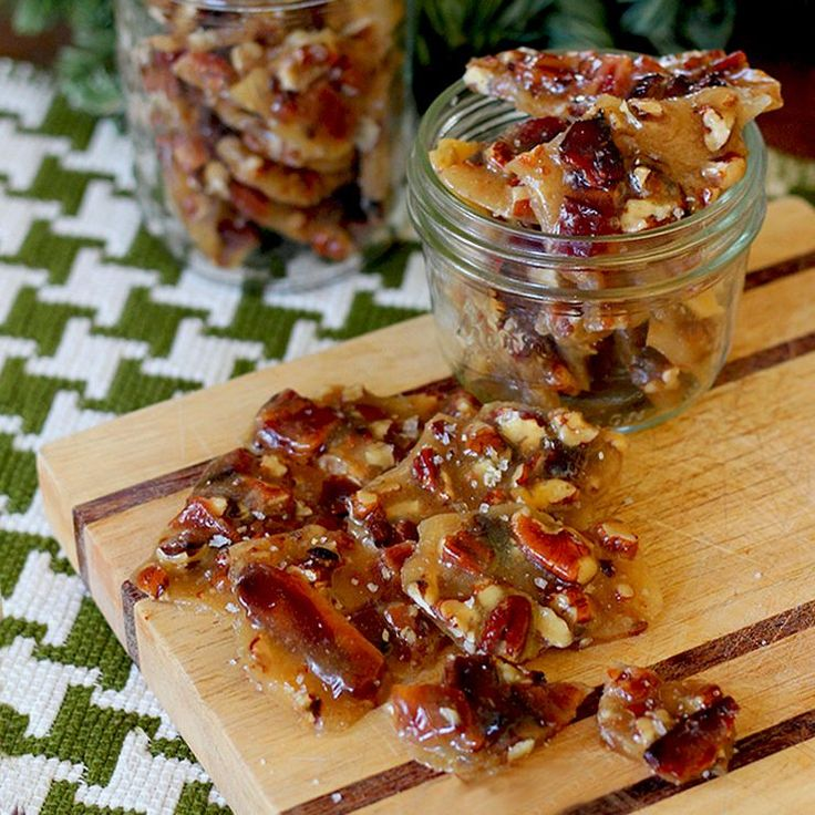 Bourbon Bacon Brittle Recipe ~ This bourbon bacon brittle brings the three gifts of yum to the holidays.