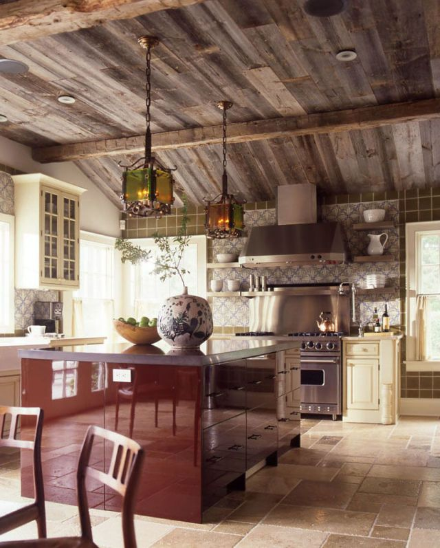 17 best images about home decor kitchen dining laundry room on pinterest giallo ornamental - Elle decor kitchens ...