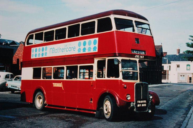 Barton transport fleet was a craven bodied aec for Elite motors stamford ct