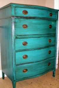 Cabinet, Teal, Rehab Furniture, DIY, Furniture Projects, Antique, nursery, dresser, vintage