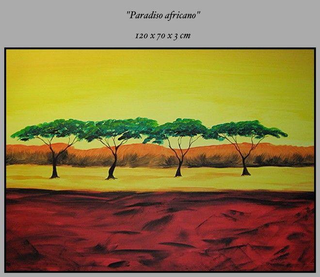 (¯`•TRAMONTO•'´¯) quadri MODERNI 120cm.quadro paesaggio