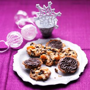 Kirstie Allsopp's Chocolate Florentines - can't stop making these. They are truly delicious and easy to make.