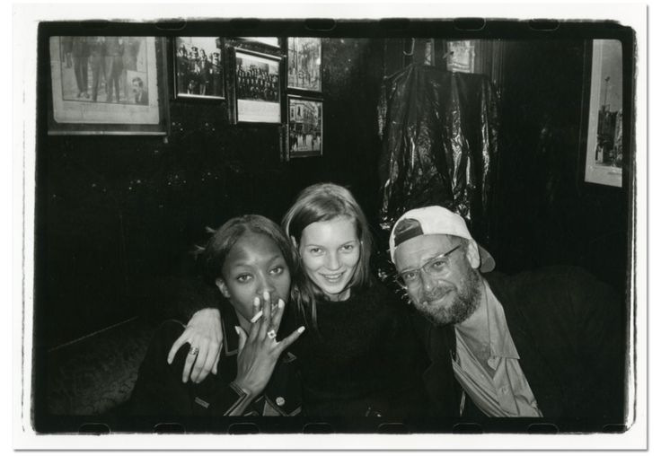 Kate Moss, @NaomiCampbell, and Adam Clayton