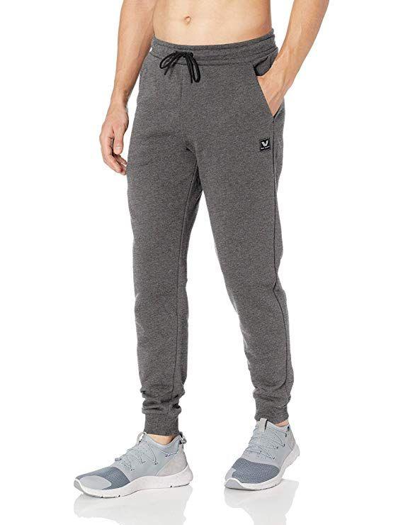 a1dc0455d8 Peak Velocity Men's French Terry Jogger Athletic-fit Pant, medium ...