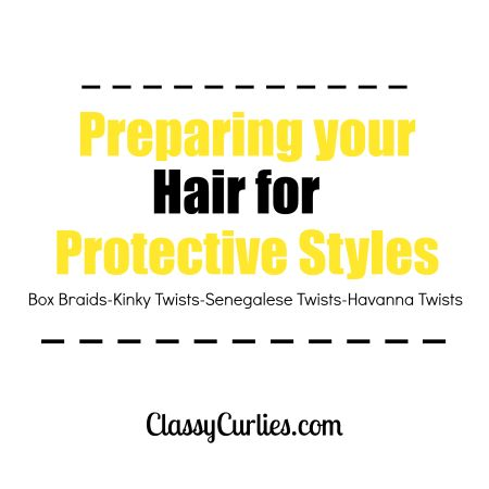 Preparing For Box Braids And Senegalese Twists Natural