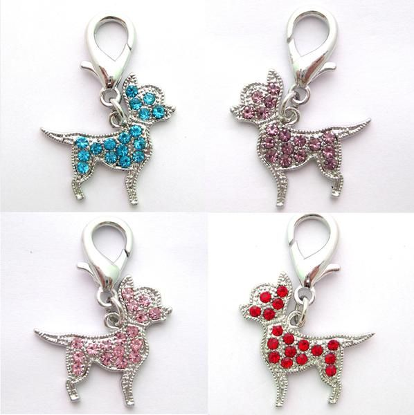 FREE Worldwide SHIPPING! $17.80NOW $13.80 Pet Dog Rhinestone Charm Key Ring Cute Pet charm with beautiful rhinestoneis agreat ornament for you and your pet! It is not only suitable for your dog collar/leash but also great on children backpack, adult keys, bags, phones and anything that you can think of! #discountvault