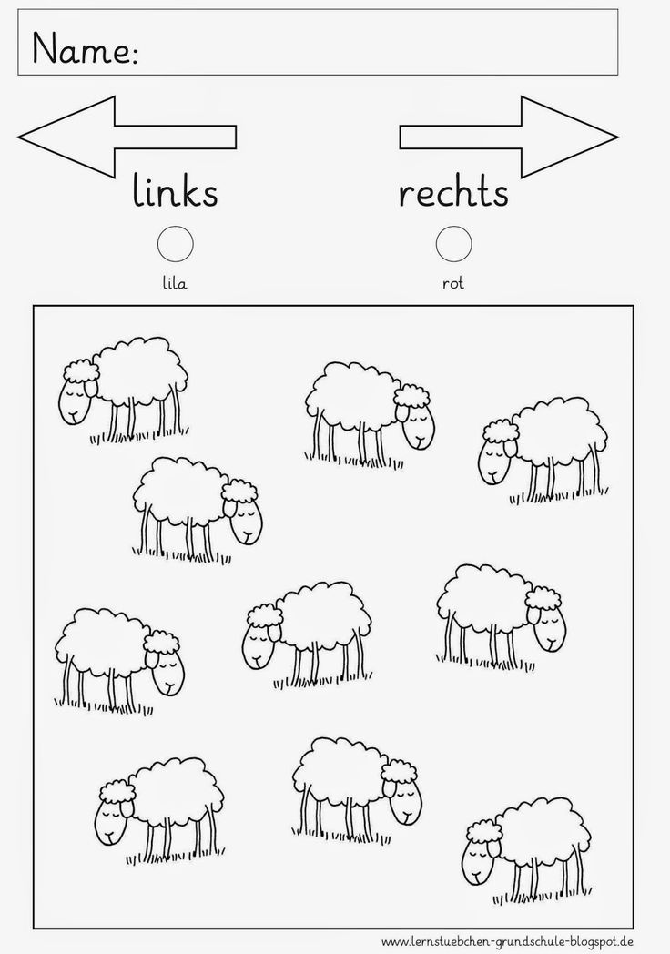 links - rechts