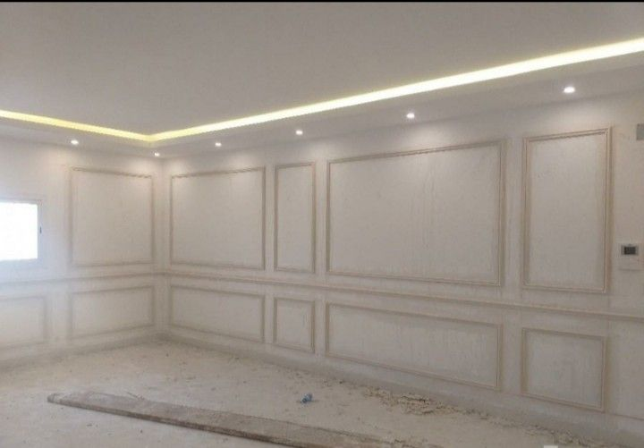 معلم جبس مكه0551596773 Living Room Decor Curtains Living Room Decor Apartment Ceiling Design