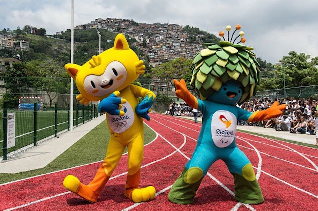 Meet The Rio De Janeiro Olympic Mascots: Cat And Tree
