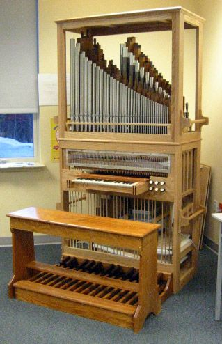 Best option for a practice organ pipe organ