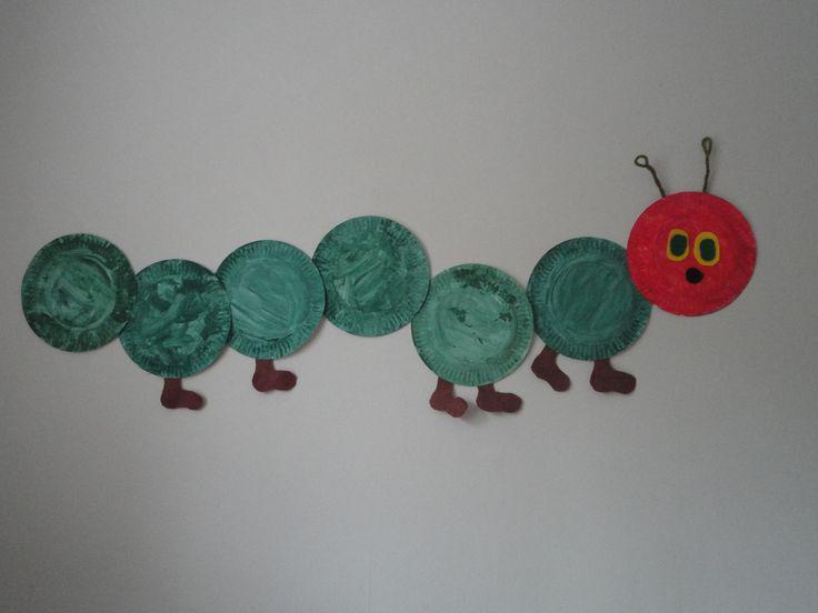 Paper Plate Very Hungry Caterpillar Craft & 27 best The Very Hungry Caterpillar Party Ideas images on Pinterest ...